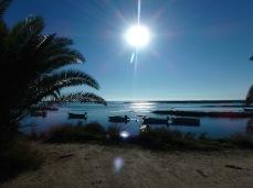A beleza do sol Algarvio